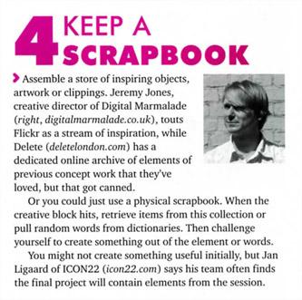 Keep a scrapbook