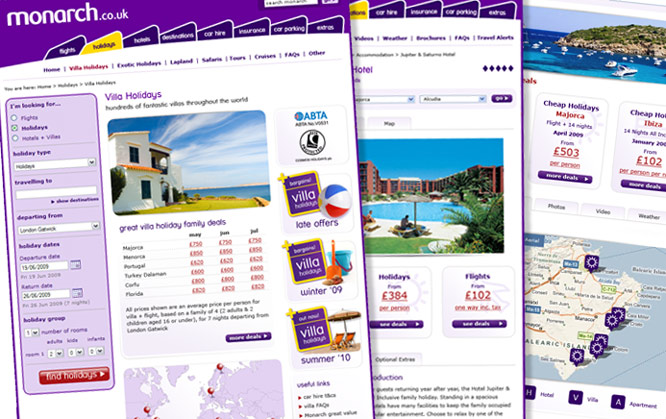 Monarch Travel Portal