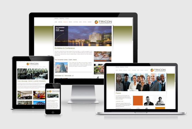 Tricon Responsive Website