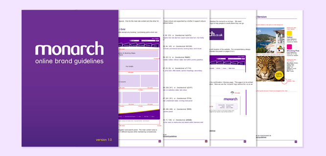 Monarch Online Brand Guidelines