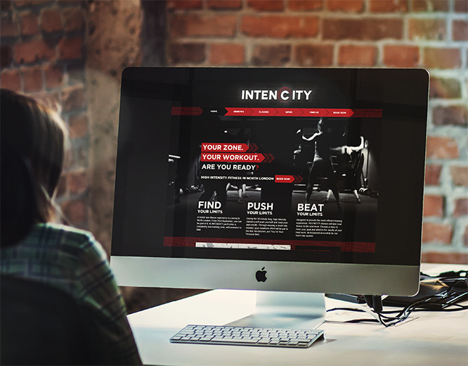 Intencity Web Design Fusion Lifestyle London
