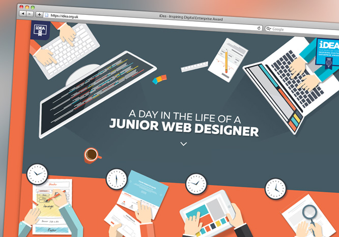 iDea Badge - Junior Web Designer