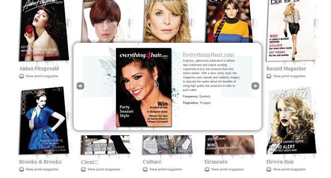 Communikator - website - magazines