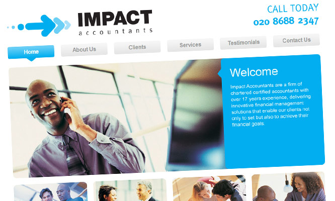 impact accountants website