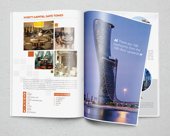 Tricon - Hotels and Restaurants Brochure