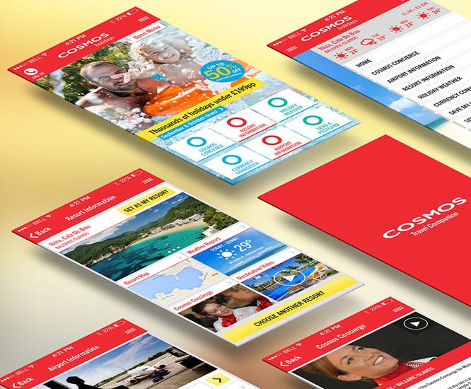 Cosmos Holidays App