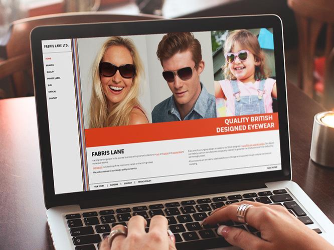 Fabris Lane - Website redesign