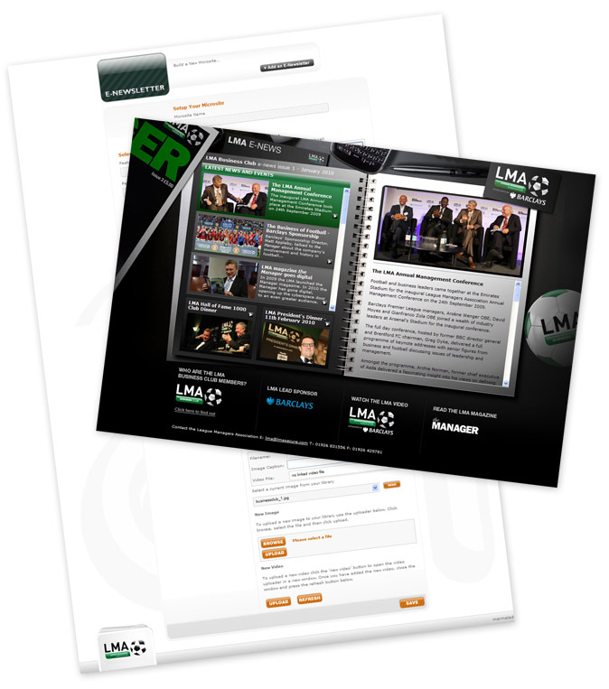 LMA Newsletter Generator