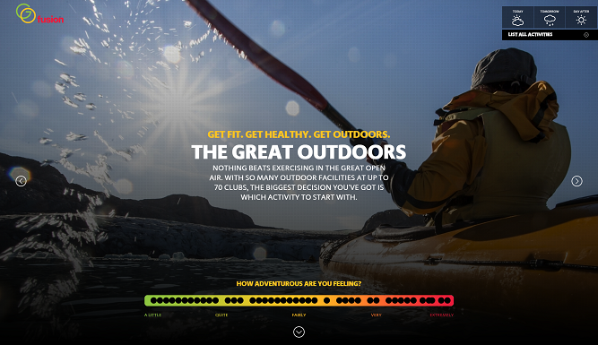 Great Outdoors Homepage