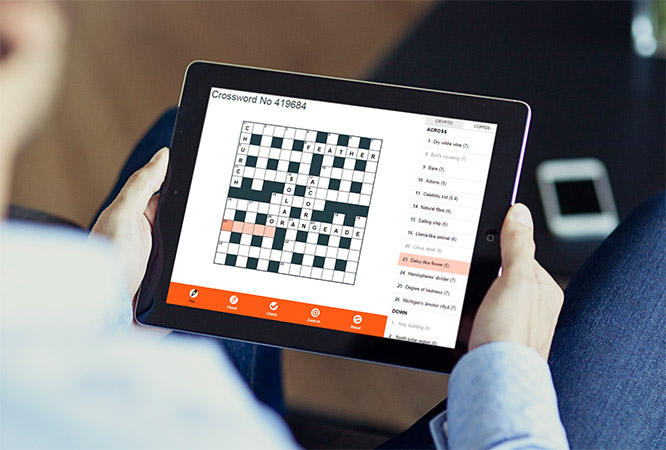 The Sun - Digital Crosswords developed by Digital Maramalade
