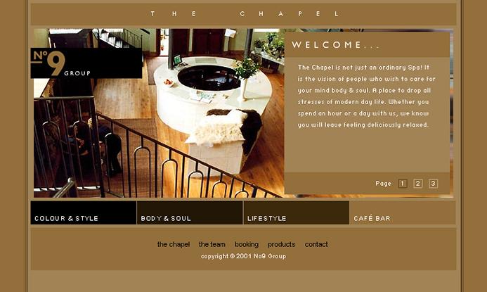 The Chapel Website
