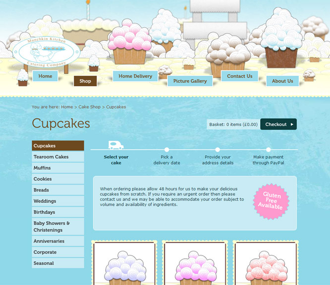 Munchkin Kitchen online shop