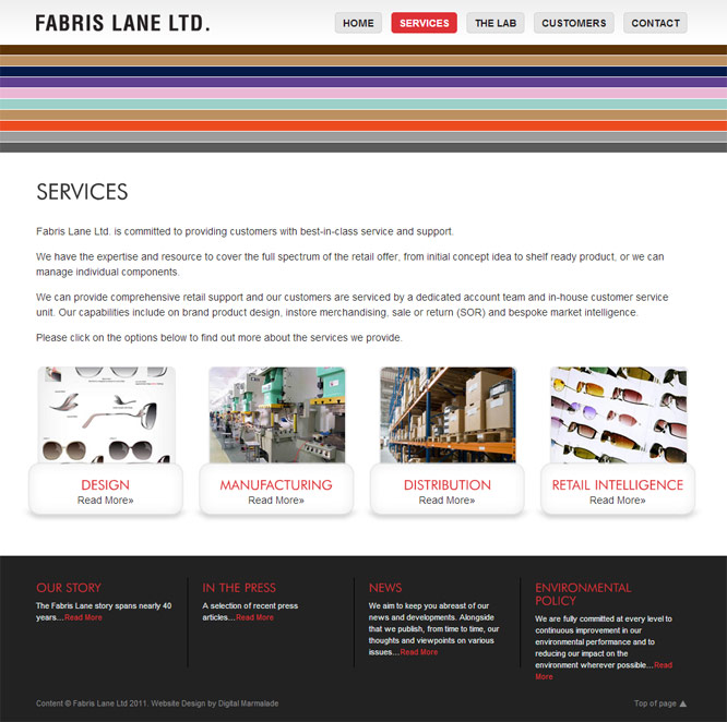 Fabris Lane Web Design