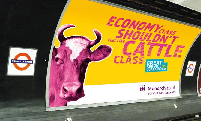 Monarch Rebrand Advert