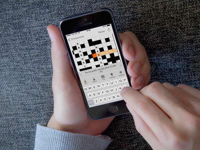 The Times Crossword iPhone App