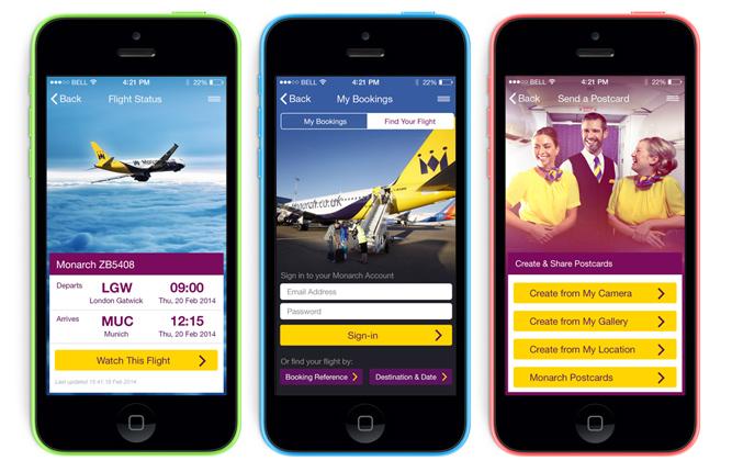 Monarch iOS7 App Update
