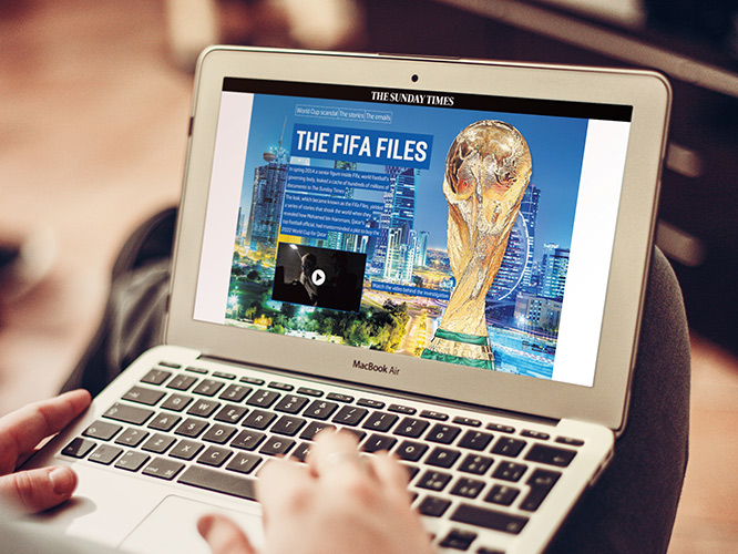 Fifa Files - The Sunday Times Website