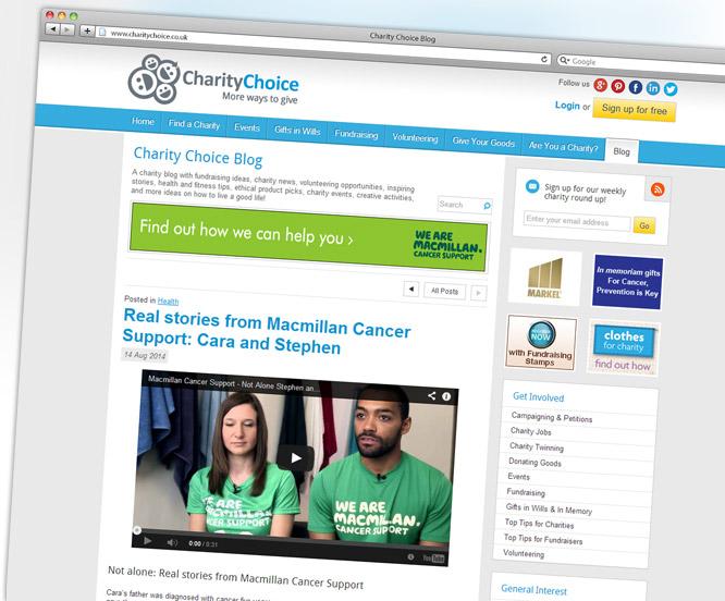Charity Choice Blog