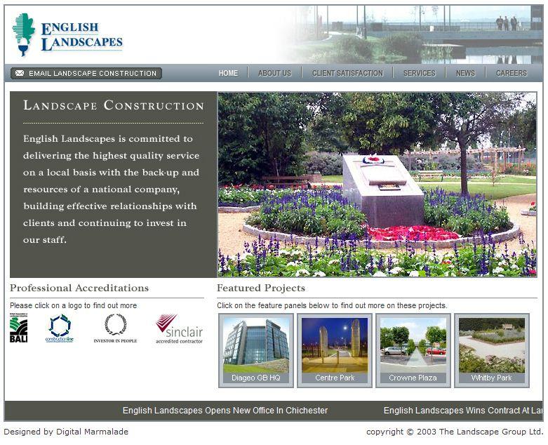English Landscapes Website