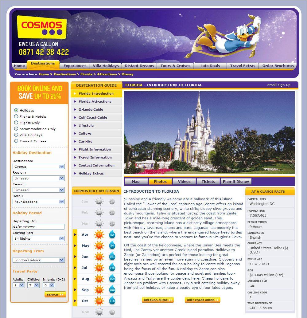 Cosmos - Enhanced Florida section