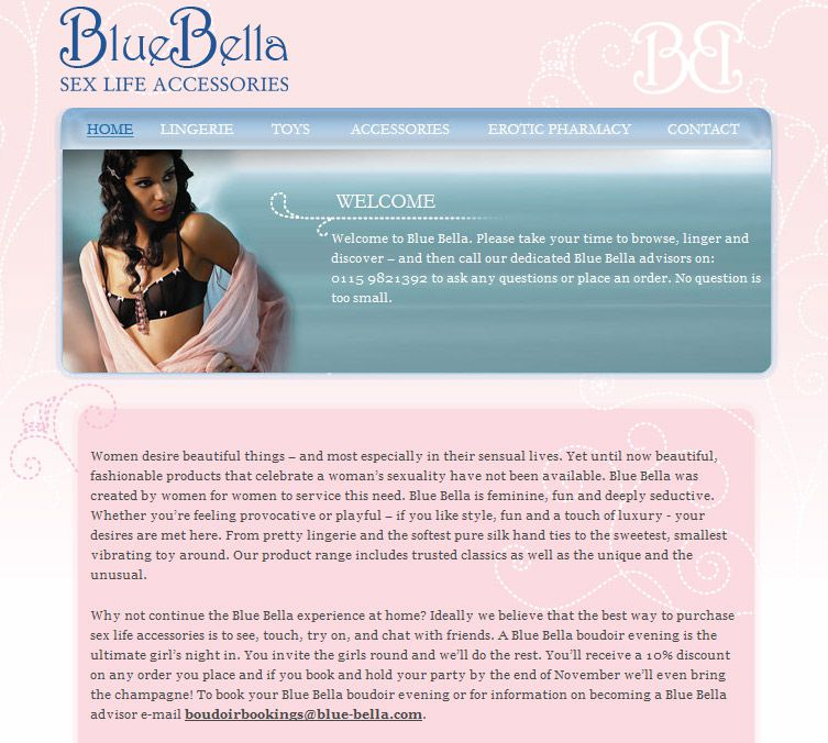 BlueBella Website