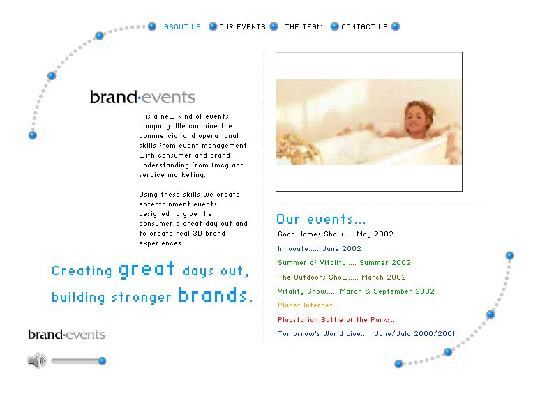 Brand Events - Home