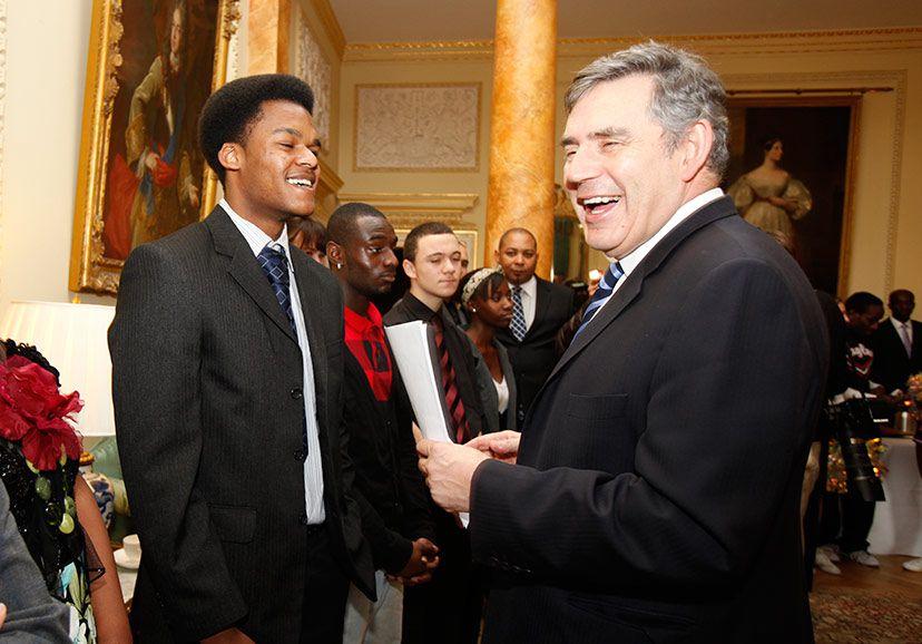 Spirit of London and Gordon Brown
