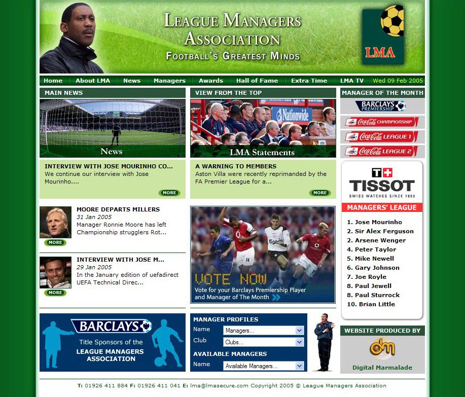LMA Website