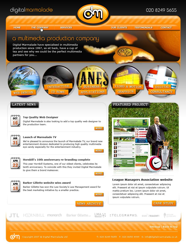 DM Website 2009