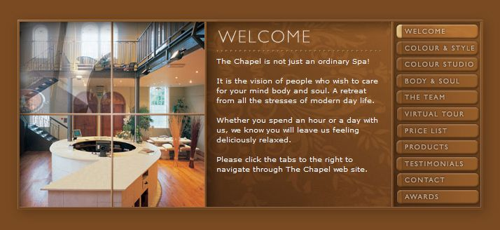 The Chapel - Website