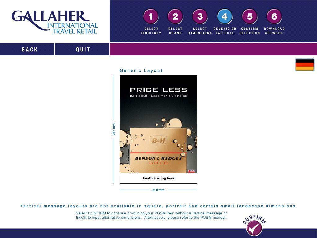 gallaher packaging